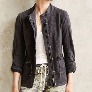 Anthropologie Saturday Sunday Cinched Knit Anorak